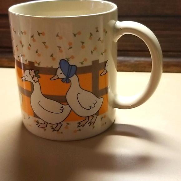 Vintage duck mug-Made in Japan